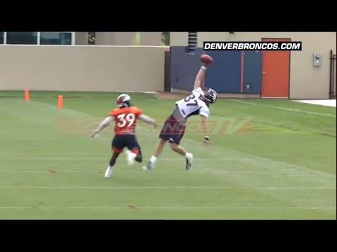 Broncos WR Jordan Taylor Makes CRAZY One-Handed Catch