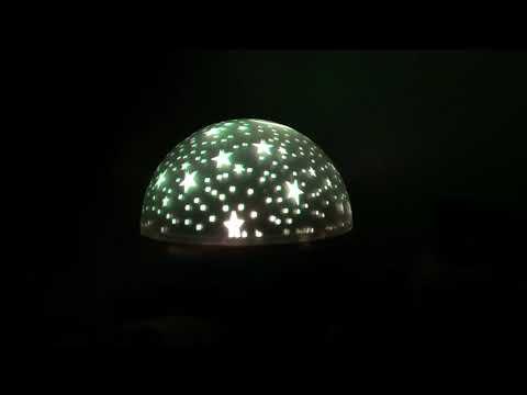 LED csillagos égbolt mini projektor 2 színben