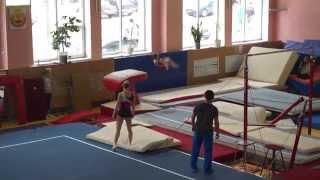 Даша Белоусова прыжок