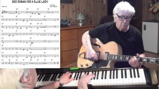 RED ROSES FOR A BLUE LADY - Jazz guitar & piano cover ( Sid Tepper & Roy C. Bennett )