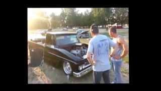 '66 Chev PU Pro Street Aluminum Donovan 540 #BaddAzzPortlandCarz