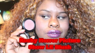 First Look MAC Rocky Horror Picture Show Blush (Crazed Imagination) Thumbnail