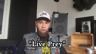 "AHAB – Behind ""Live Prey"" 