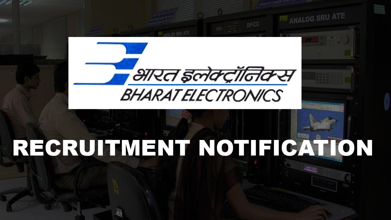 BEL Recruitment 2019 Latest 261 BEL jobs vacancies updated on 11 Aug
