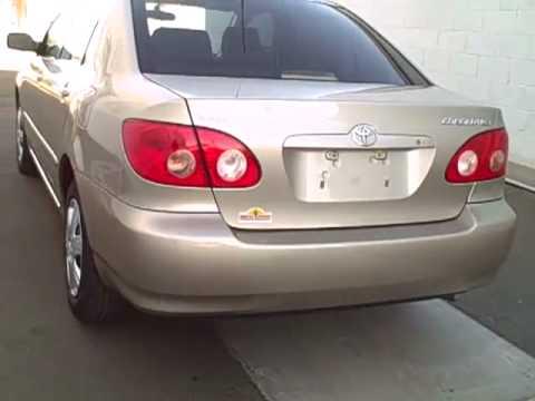 N6594a 2006 Toyota Corolla Gold Yuma Az Youtube