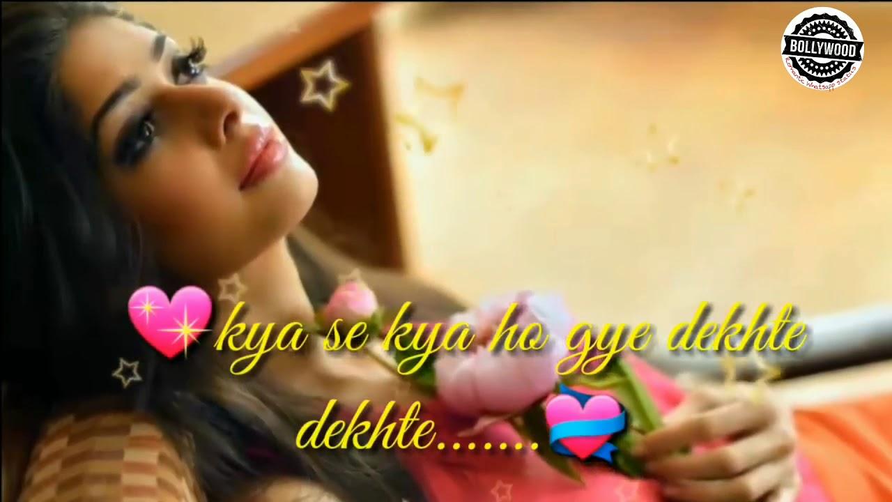 Sochti Hoo Ke Vo Kitne Masoom The | Bollywood Romantic Whatsapp Status