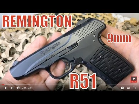 Remington R51 9mm Compact Carry Pistol Redesigned After Issues