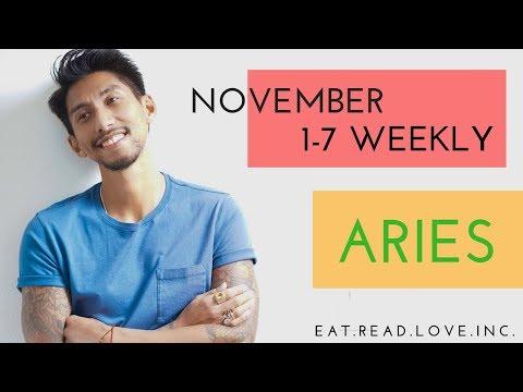 """ARIES SOULMATE """"PRESSURE COOKER """" NOVEMBER 1-7 WEEKLY TAROT READING"""