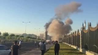 Cumhurbaskanliği Beştepe külliye Millet Camii bombalama anı