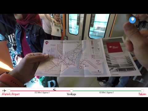 How To Go? - From Ataturk Airport to Taksim by Metro