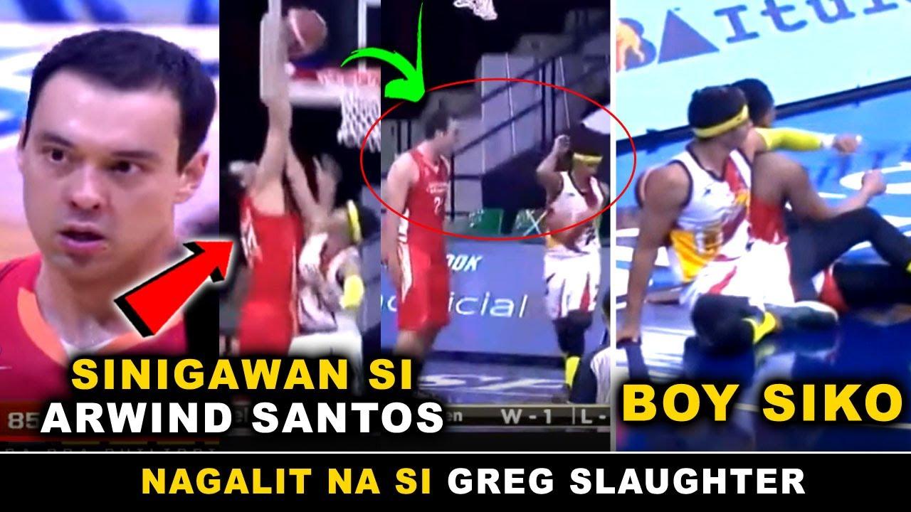 Greg Slaughter DEBUT GAME sa Northport Batang Pier!  PINOSTERIZE at SINIGAWAN si Arwind Santos