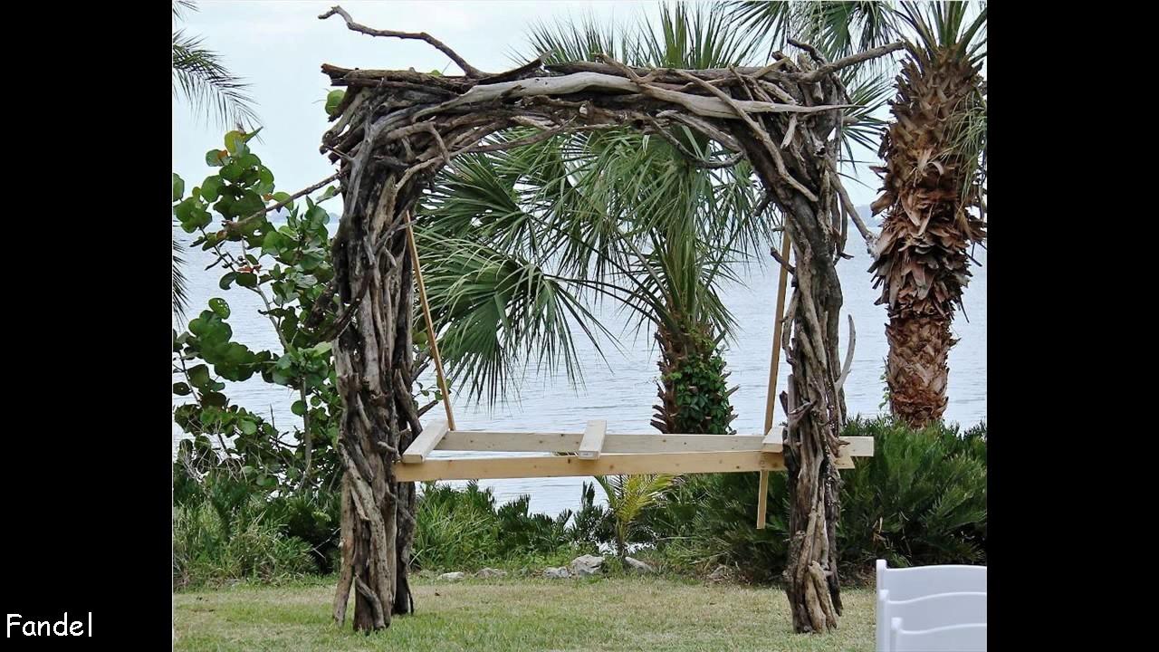 DIY Wedding Arbor Ideas - YouTube