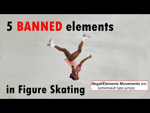 5 Banned Elements In Figure Skating
