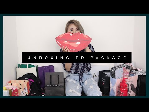 UNBOXING PR PACKAGE!!