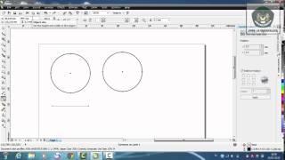 Membuat Lingkaran dan Elips dengan menggunakan Corel Draw