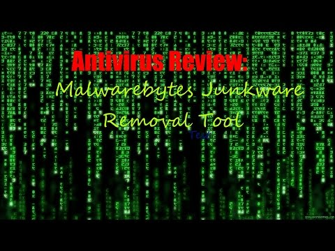 Malwarebytes Junkware Removal Tool Adware Removal Test (QuickVideo)