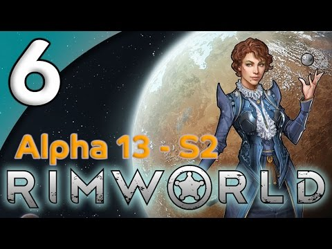 Rimworld Alpha 13 - 6. Bricks & Bedrooms - Let's Play Rimworld Gameplay