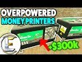 OVERPOWERED Money Printers $52,000 Per/Print - Gmod DarkRP Life (Easy Money And Was Raided 69 Times)