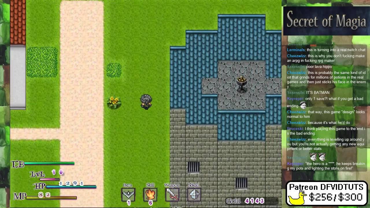 Secret of Magia - Secret of Mana like RPGmaker game