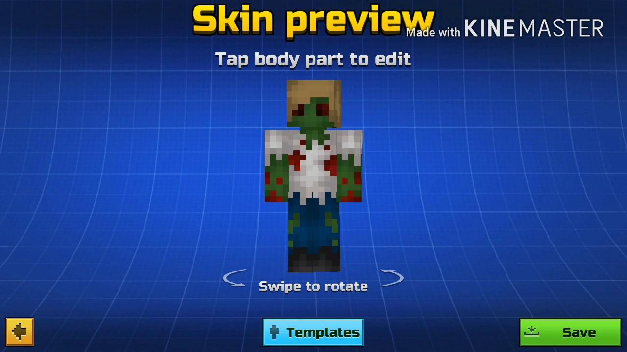 Pg10d- Zombie boy skin Remake - YouTube