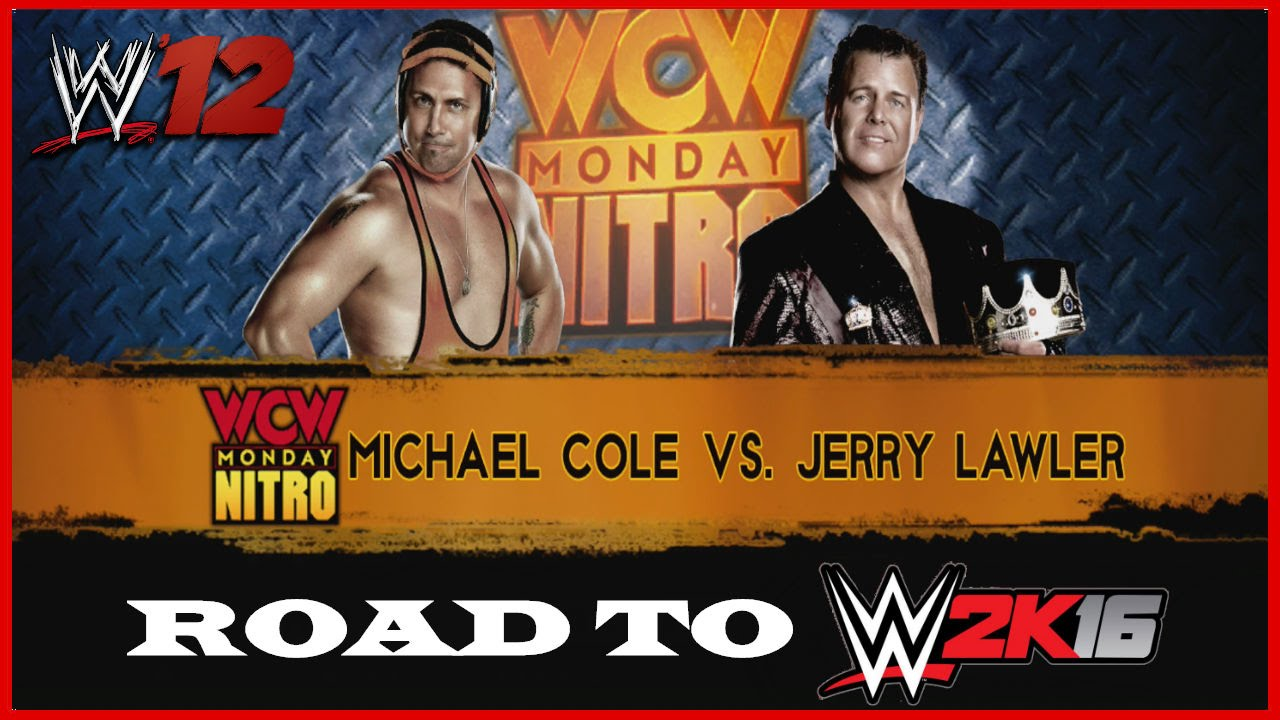 45a3a660c38e Road to WWE 2K16 | Episode 6 | Michael Cole vs Jerry Lawler | 3 out of 2  Falls Inferno Match