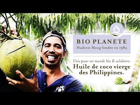 BIO PLANÈTE – Huilerie Moog: Huile de coco vierge des Philippines