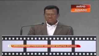 Astro - Pinewood Studios: Speech by Dato