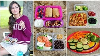 Healthy Back to School Lunches + After School snack ideas! thumbnail