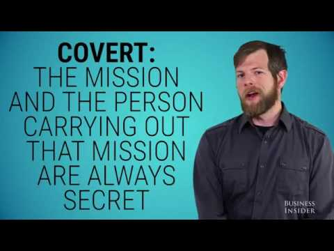 Army Ranger talks about the difference between Covert OPS and clandestine Ops
