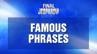 #WeLoveYouAlex | JEOPARDY!