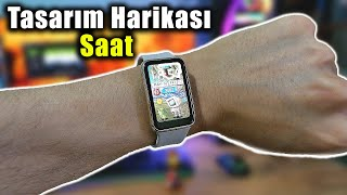 Fiyatına Göre Çok Güzel Akıllı Saat HUAWEI Watch Fit Elegant (İsviçreliler Görmesin)