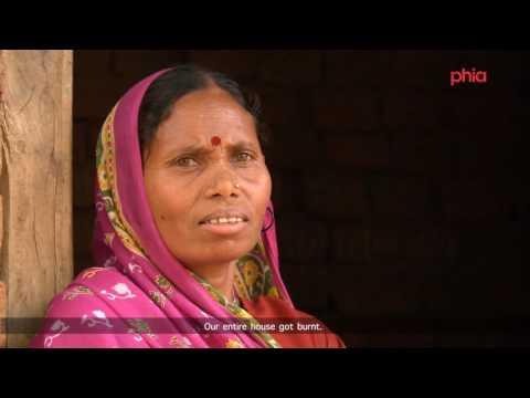 Solar lights in rural Jharkhand