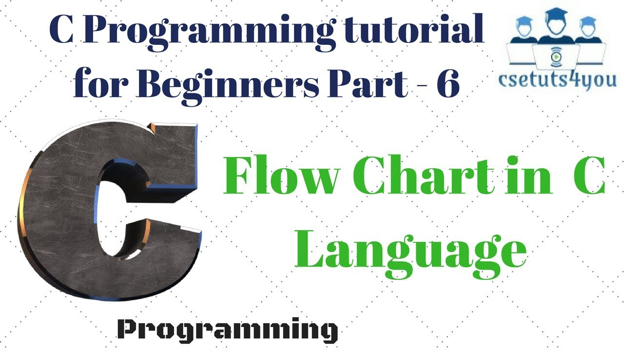 C programming tutorial for beginners part 6 flow chart in Compiler for c language