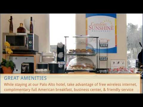 Explore Stanford & Palo Alto with the Comfort Inn Palo Alto