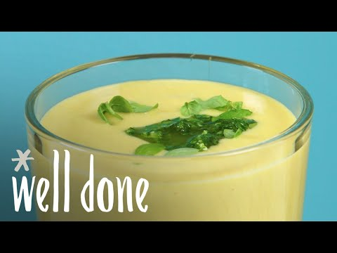 How To Make Chilled Sweet Corn Soup | Recipe | Well Done