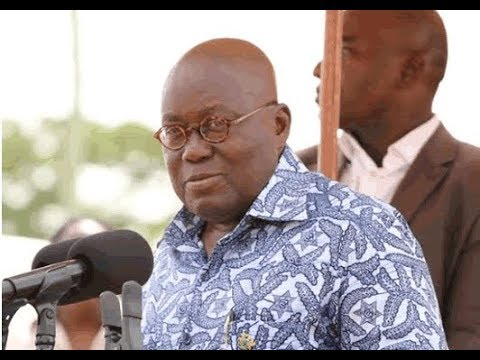 NANA AKUFFO ADDO INAUGURATES NEW REGIONS FOR GHANA