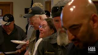 Sen. Theis attends local veterans lunch to honor those who served