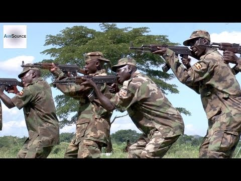 U.S. Marines Train Uganda's Military to Combat Al-Shabaab