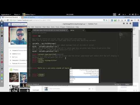 CGI Python with Get Method