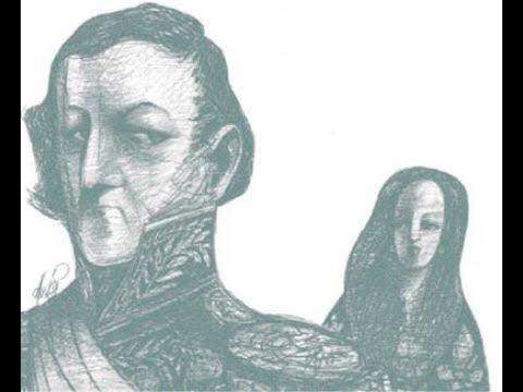 Eugenia Castro y Juan Manuel de Rosas por Omar López Mato