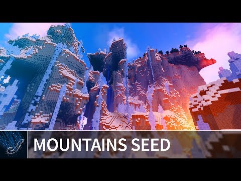 Minecraft 1.13 Seeds - INSANE AMPLIFIED ICE SPIKE MOUNTAINS - Minecraft 1.13.2 Java Edition Seeds