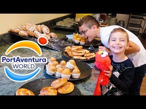 VLOG - Morning Routine à PortAventura 🎢 (Hôtel Gold River)