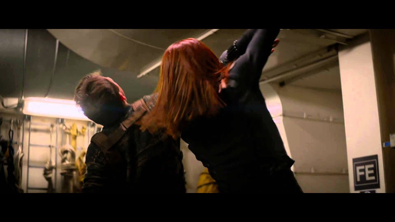 Captain America The Winter Soldier Clip The Boiler Room Official Marvel Hd