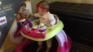How to assemble safety 1st baby walker by ScubaMom