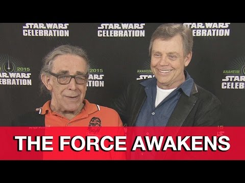 Star Wars The Force Awakens Interview - Mark Hamill & Peter Mayhew