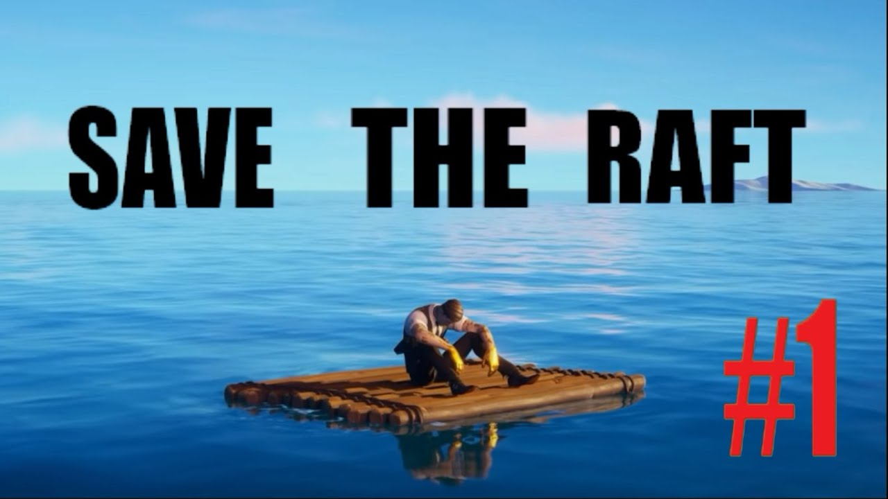 My Plane Got Crashed😳 | Save the Raft #1 | Mobile Gaming