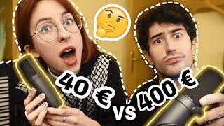 Micro de 40 euros VS 400 euros ¿VALE LA PENA?