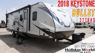 Take a look at the 2018 KEYSTONE BULLET 277BHS