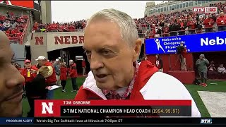 Tom Osborne Interview - Nebraska Spring Football