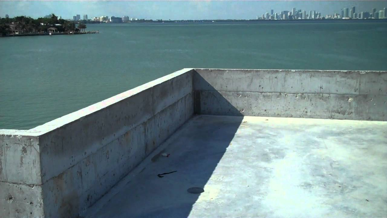 Concrete Deck Preparation 2  Miami Beach, FL  Istueta Roofing